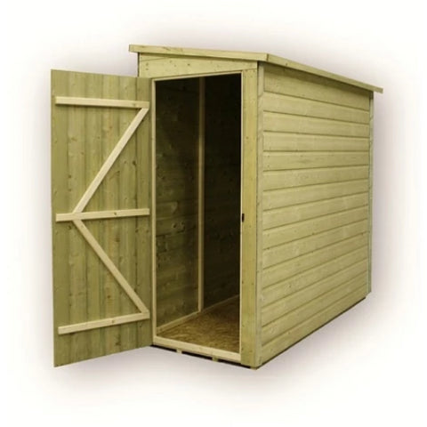 Empire Sheds Small Pressure Treated Pent Garden Storage - GardenPromos