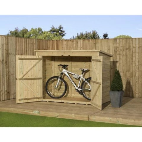 Image of Empire Sheds Bike Storage - GardenPromos