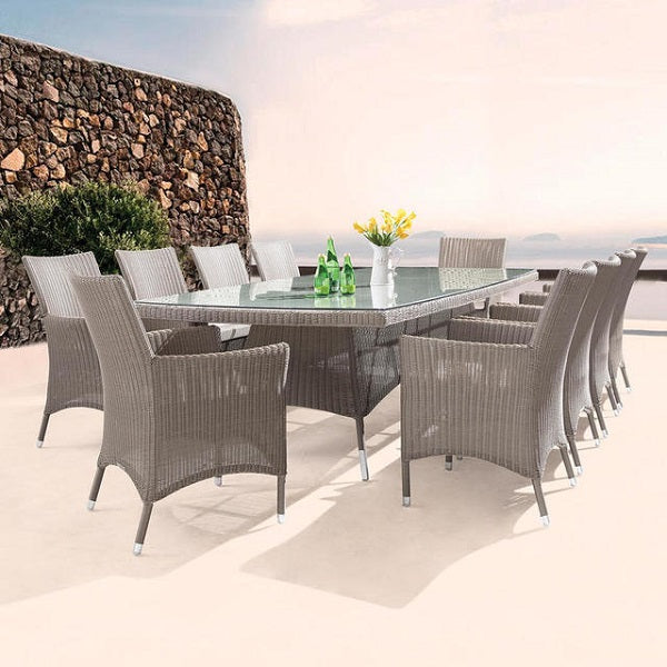 Westminster Valencia Rectangular Table 210x110/280x125 - GardenPromos