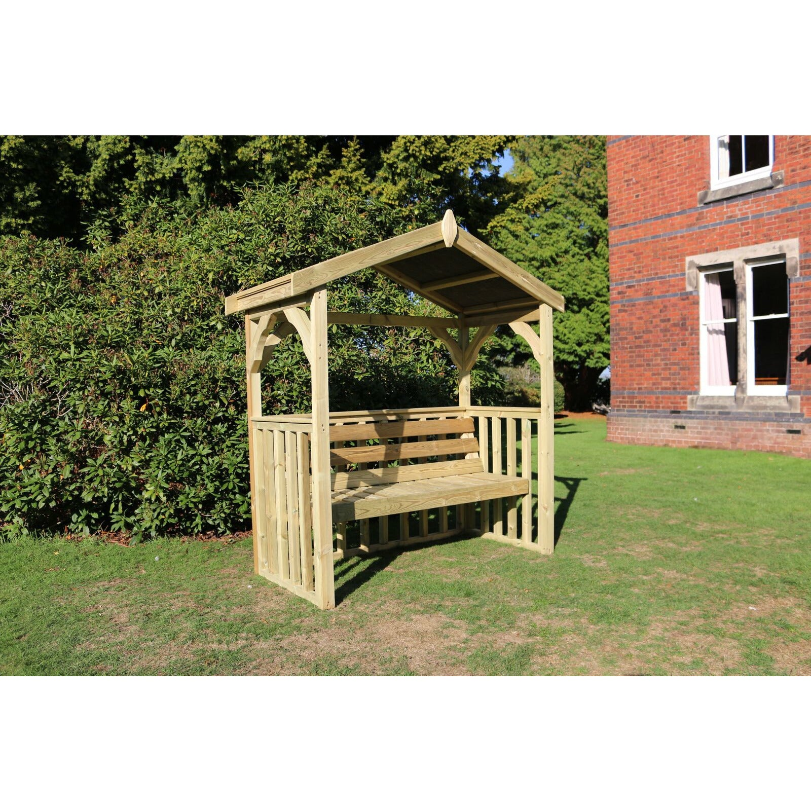 Churnet Valley Anastasia 3 Seater Arbour - GardenPromos