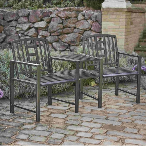 Phenomenal Gablemere Hartlebury Duo Bench Table Short Links Chair Design For Home Short Linksinfo