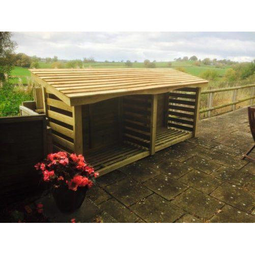 Churnet Valley Log Stores - GardenPromos