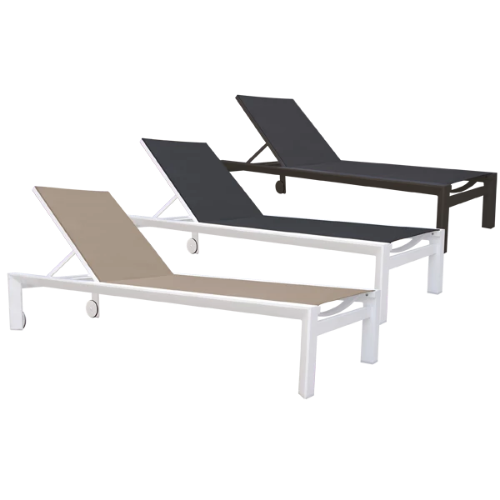 Westminster Madison Lounger With Wheels - GardenPromos