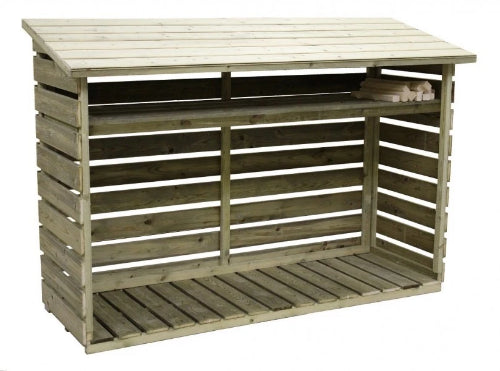 Empire Sheds Log Storage - GardenPromos