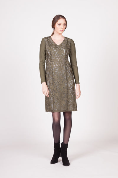 Woodland Dress - Green
