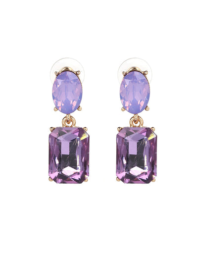 Autumn Earrings - Purple