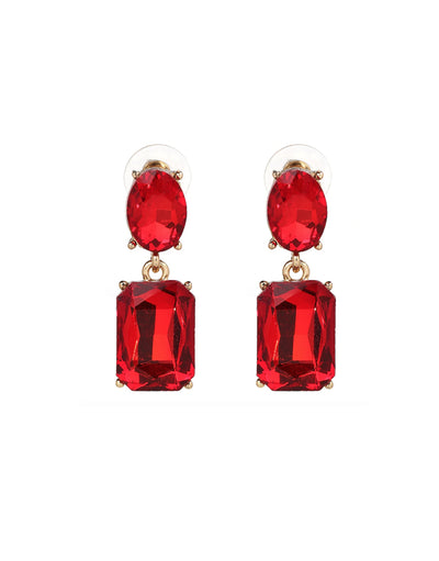 Autumn Earrings - Red