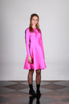 Empire Dress - Fuchsia