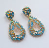Emmaline Earrings - Blue