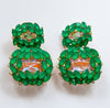 Norma Earrings - Green