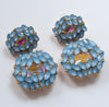 Norma Earrings - Blue