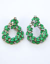 Allison Earrings - Green