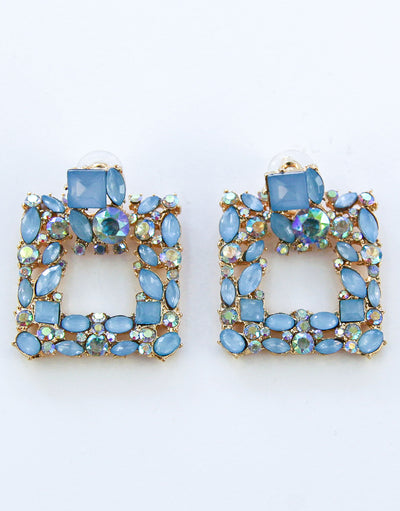 Ariana Earrings - Blue