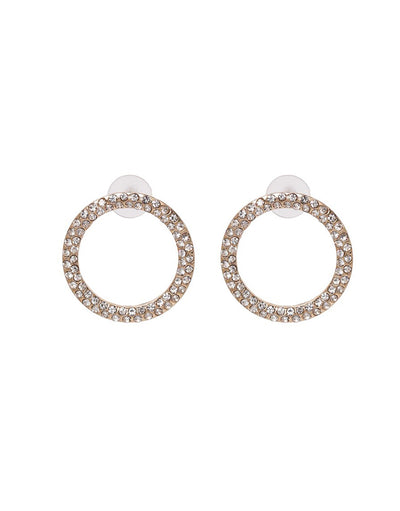 Kinsley Earrings - Clear Jewels