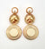 Lorraine Earrings - Cream