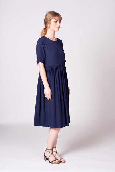 Otama Dress - Navy