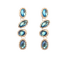Sara Earrings - Blue