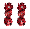 Delilah Earrings - Red
