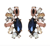 Rylee Earrings - Blue/Pink