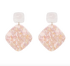 Rebecca Earrings - Pink