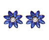 Bonnie Earrings - Blue