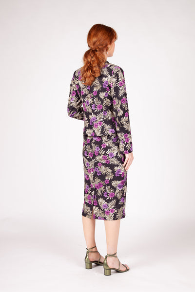 Bloomsbury Blazer - Purple Floral