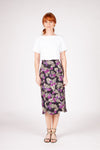 Katherine Skirt - Purple Floral