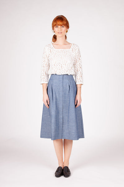 Soho Skirt - Chambray