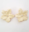 Alexa Earrings - Cream