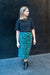 Alida Skirt - Green/Black