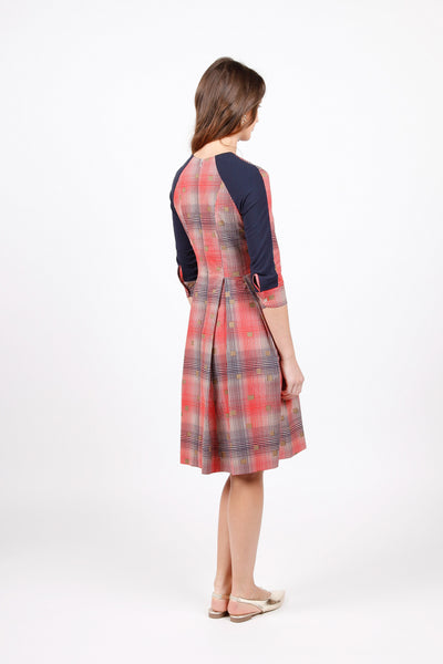 Anemone Dress - Red Check