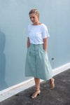 Chrysanthemum Skirt - Green