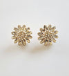 Daisy Earrings - Clear