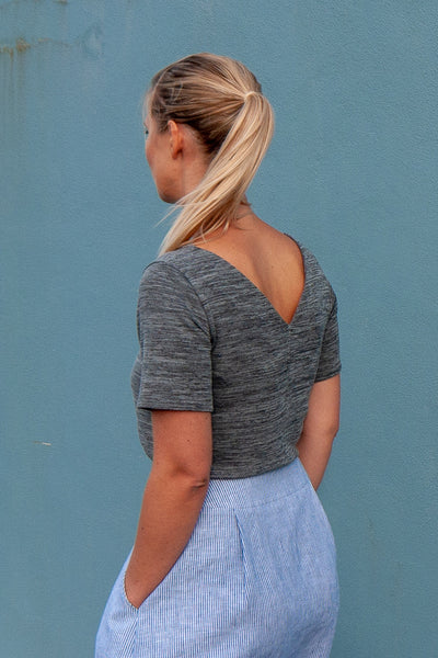 Coast Top - Grey Marle