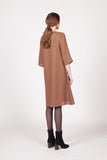 Gretel Dress - Brown