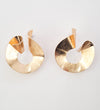 Loop Earrings - Gold