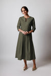 Margareta Dress - Khaki