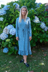 Mila Dress - Blue Spot