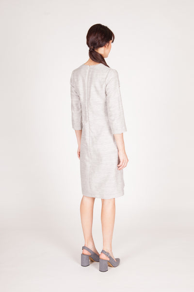 Jacquette Dress - Natural