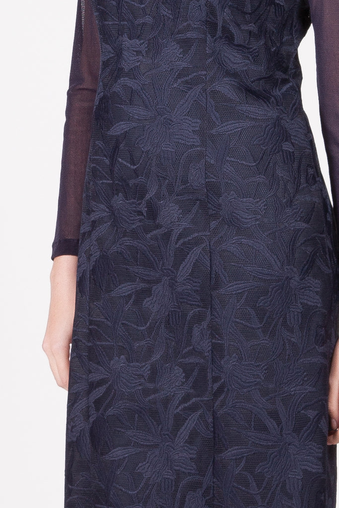 Woodland Dress - Navy