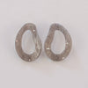 Josie Earrings - Grey