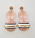 Bailey Earrings - Pink