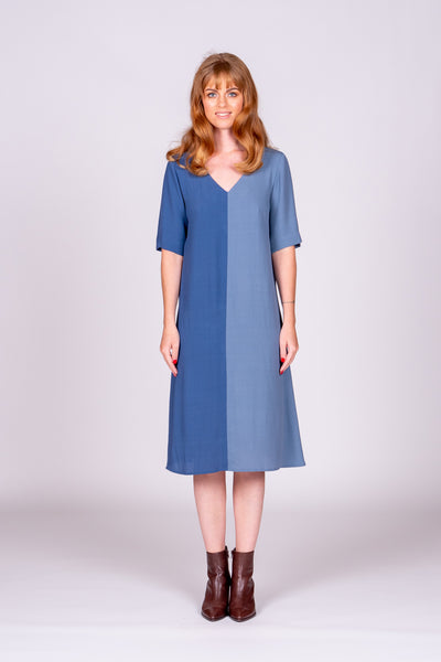 Hazel Dress - Blue