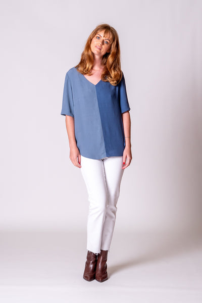Hazel Top - Blue