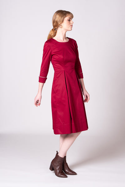 Molly Dress - Berry