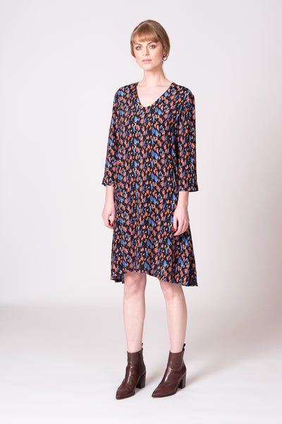 Ellen Dress - Abstract Print