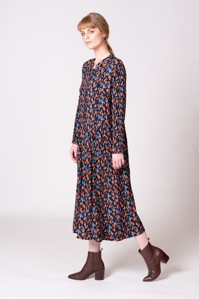 Frances Dress - Abstract Print