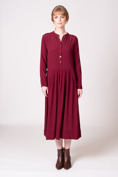 Frances Dress - Berry