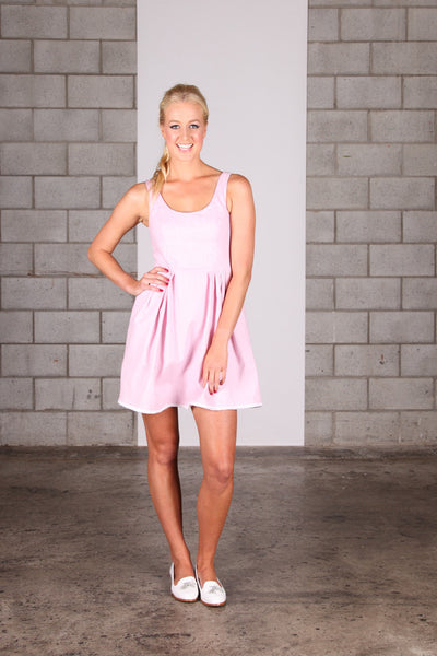 Baby You're a Doll Dress - Pink Stripe