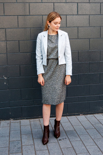 Evelyn Blazer - Grey